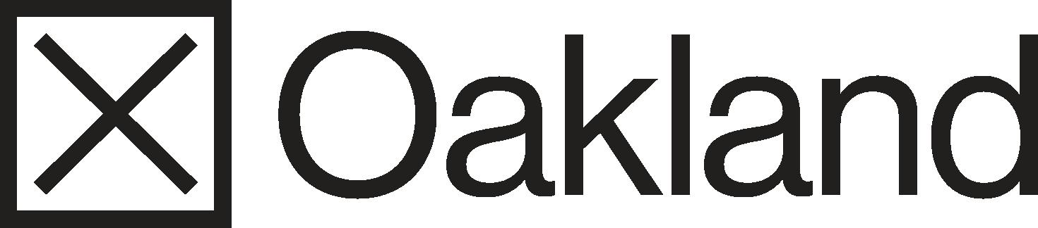 X Oakland logo