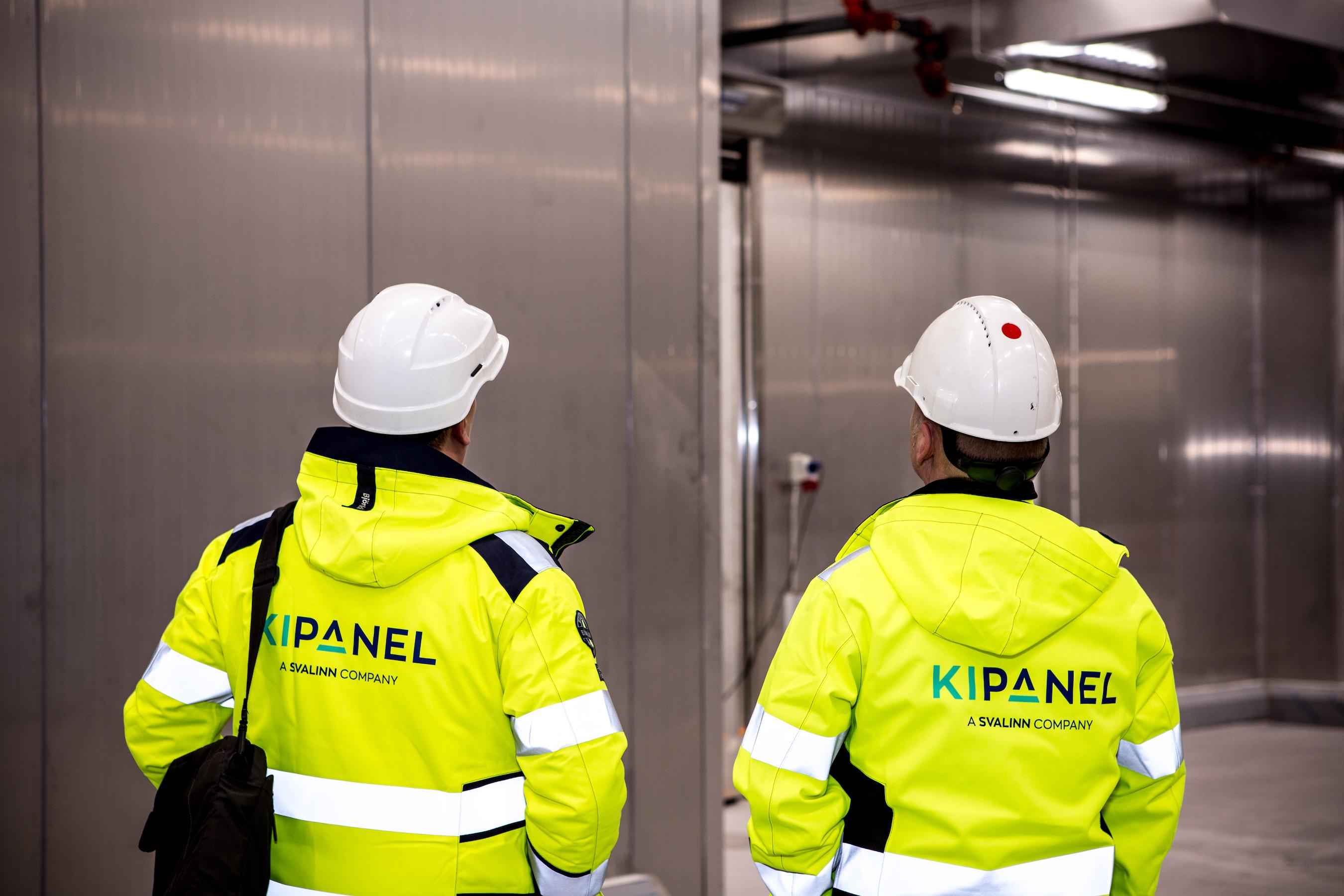 Ki-Panel logo på baksiden av en jakke
