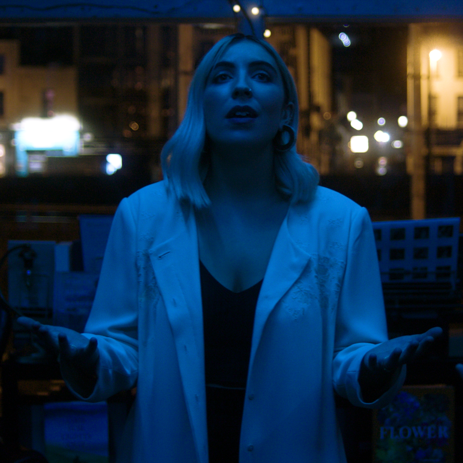 Still from The Place That I Work music video