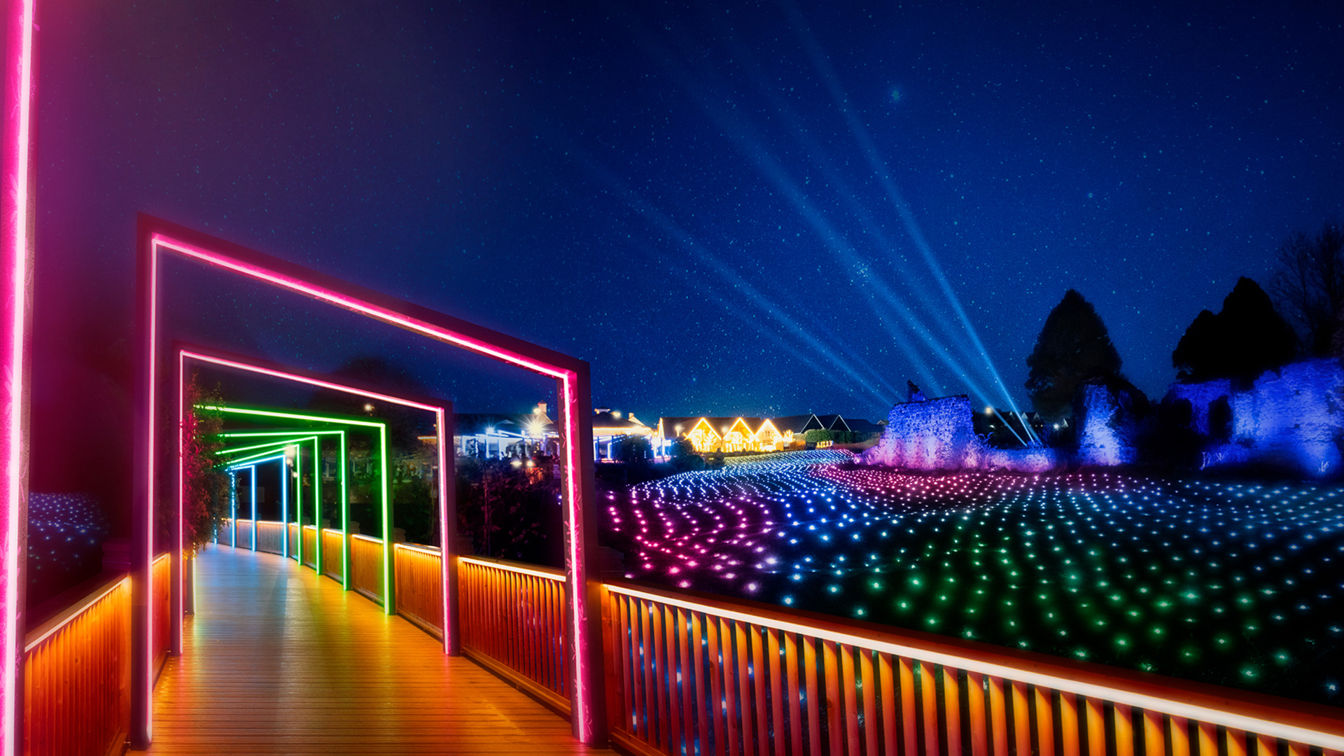 Field of Lights Arches