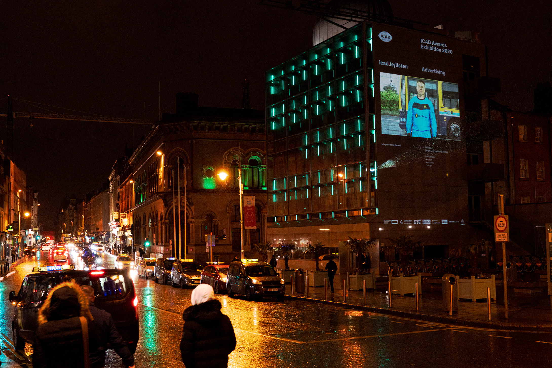 The ICAD projections in Dublin