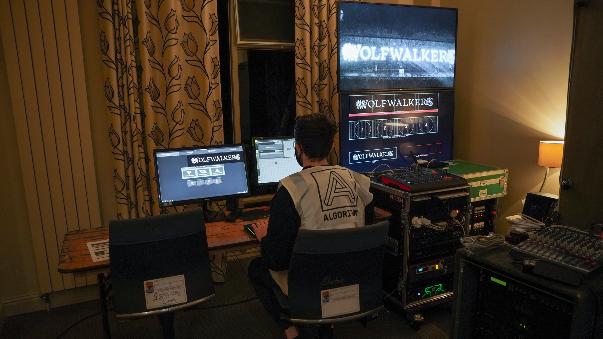 Behind the scene at Wolfwalkers HQ