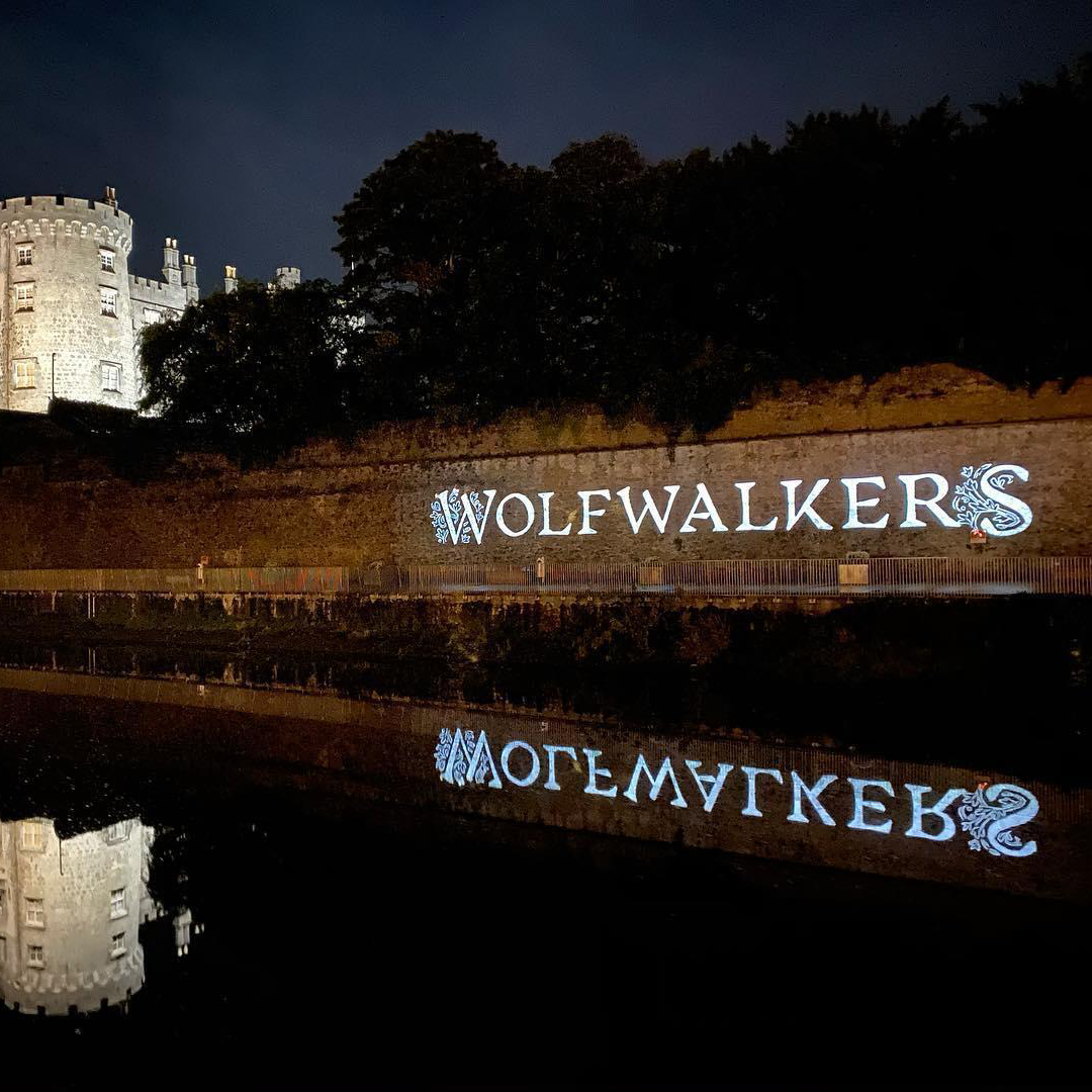 The Wolfwalkers Projection Mapping at Kilkenny Castle