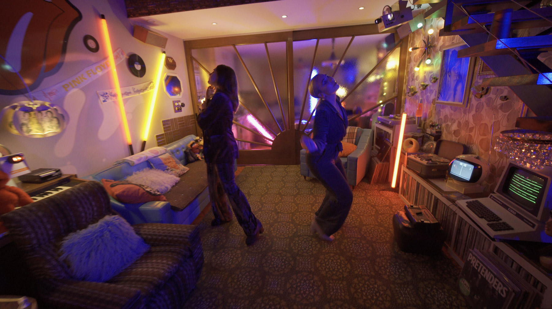 Saint Sister Dancing in room