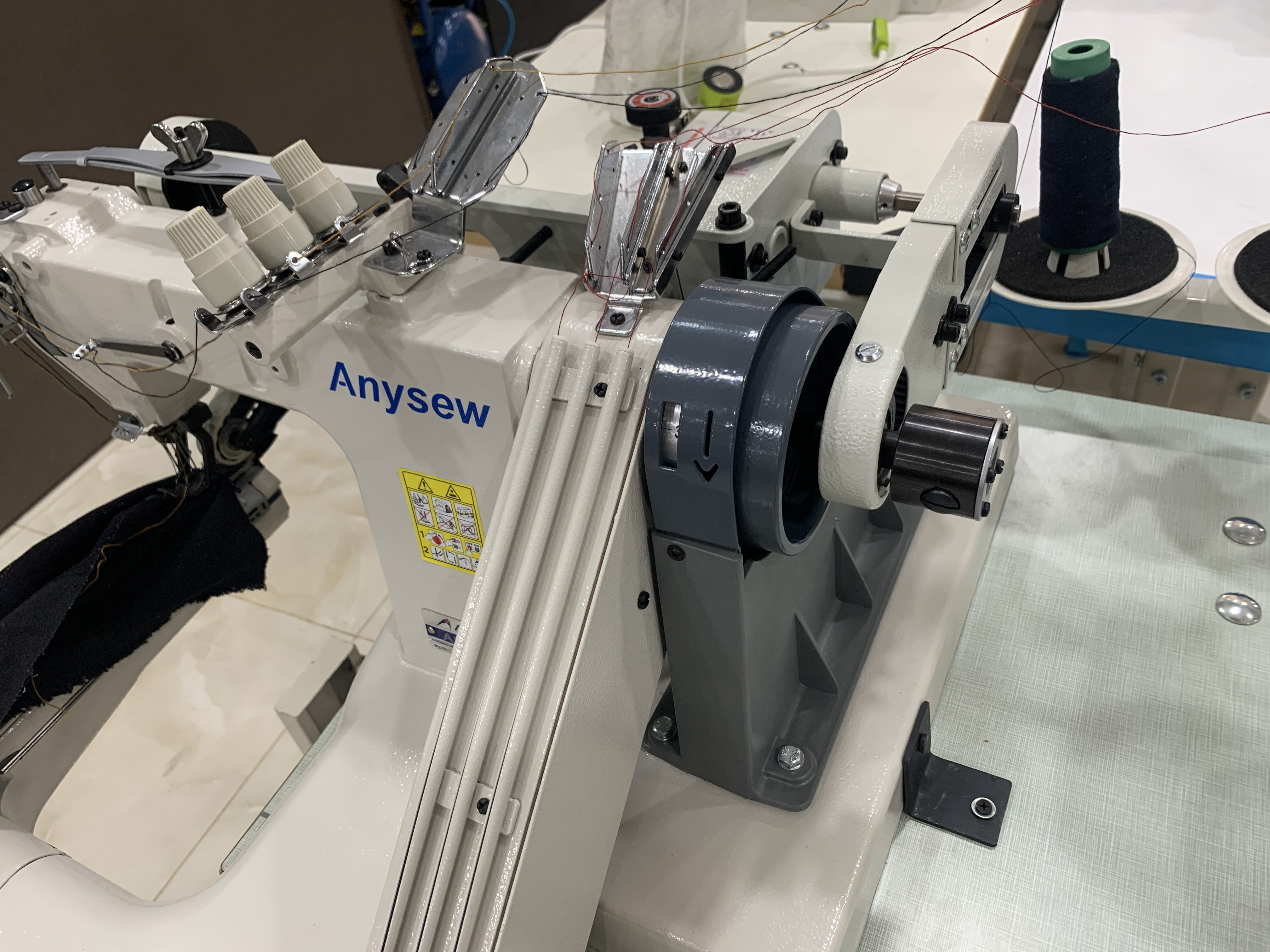 Anysew Feed Off Arm with Belt Puller Attachment AS-928