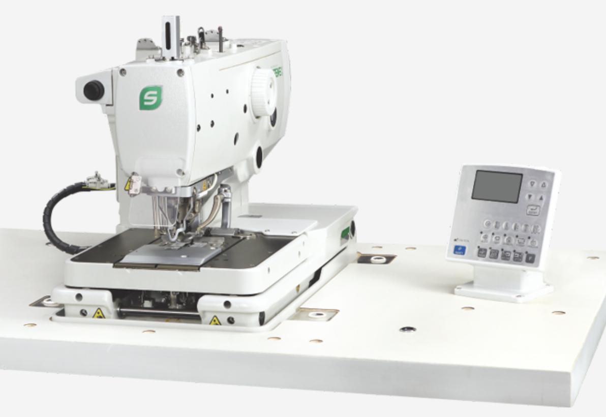 SP-9820-02 EYELET BUTTON HOLING MACHINE