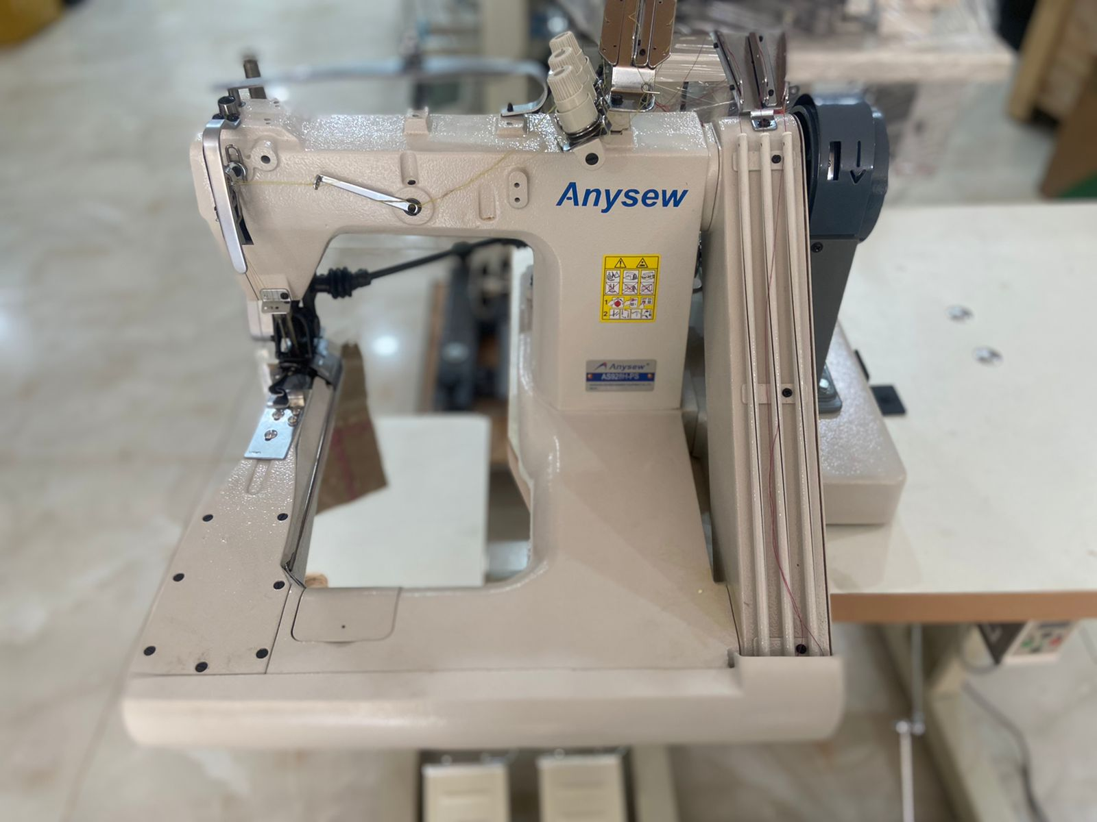 Anysew Feed Off Arm with Puller AS-928H-PS
