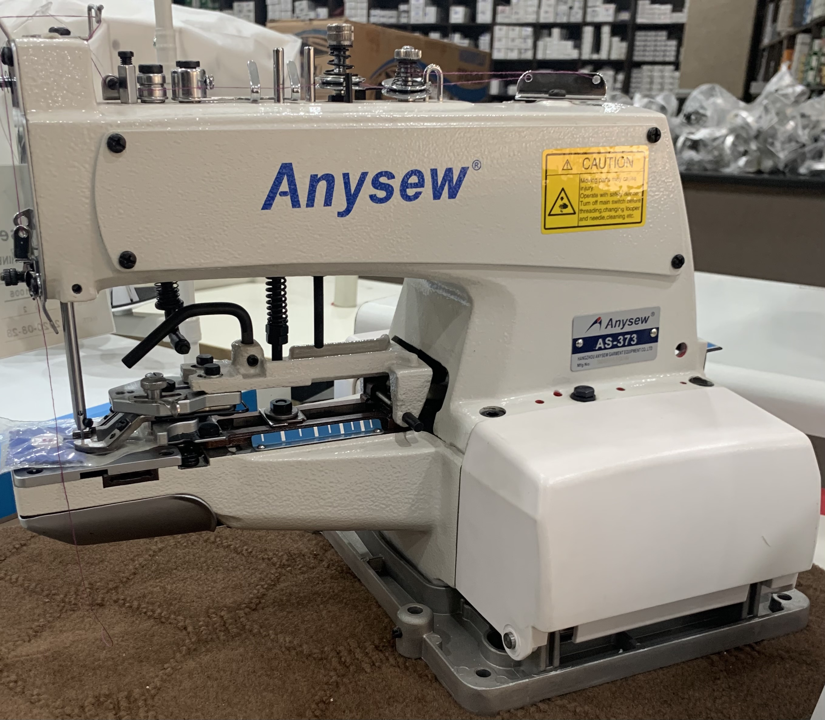 Anysew Button Mounting Machine 373