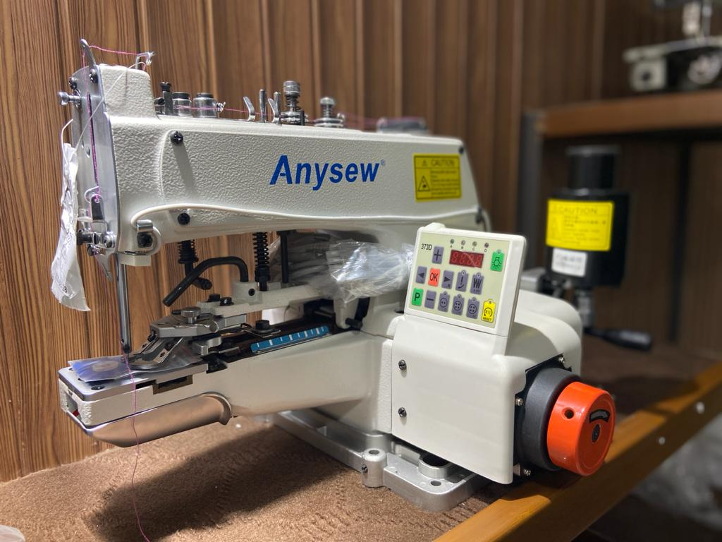 Anysew Direct Drive Button Mounting Machine 1377