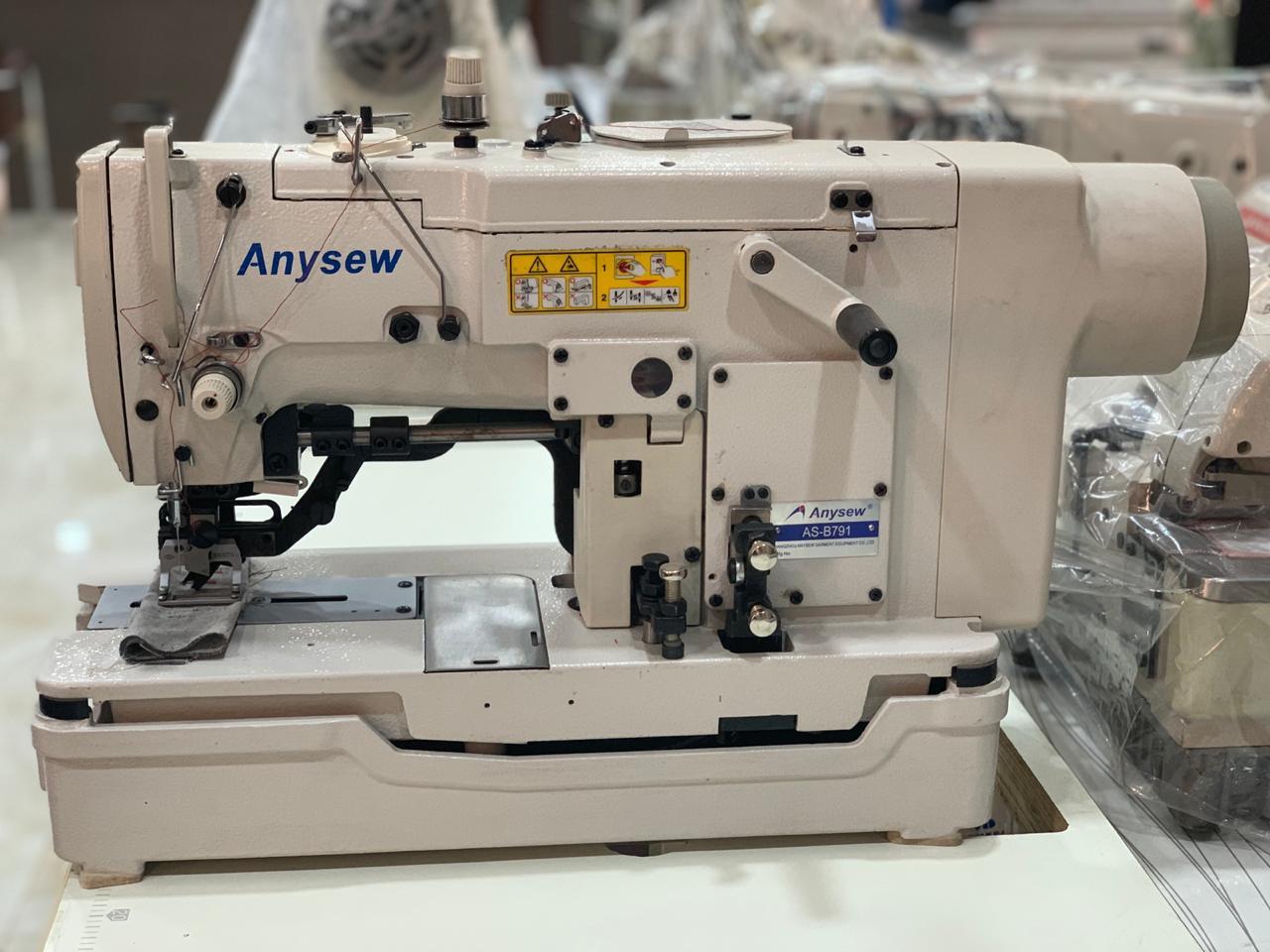 Kaj Direct Drive Button Holing Machine AS-791