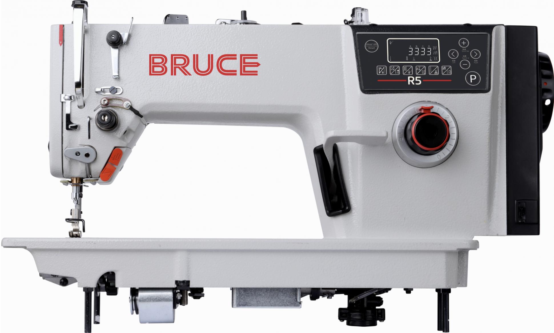 Bruce R5 Auto Trim Auto Foot Lifter Lockstitch