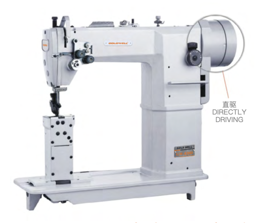 GW820 Direct Drive Single Needle Post Bed