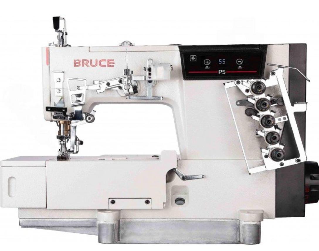 Bruce P5 Flat Bed Interlock Direct Drive