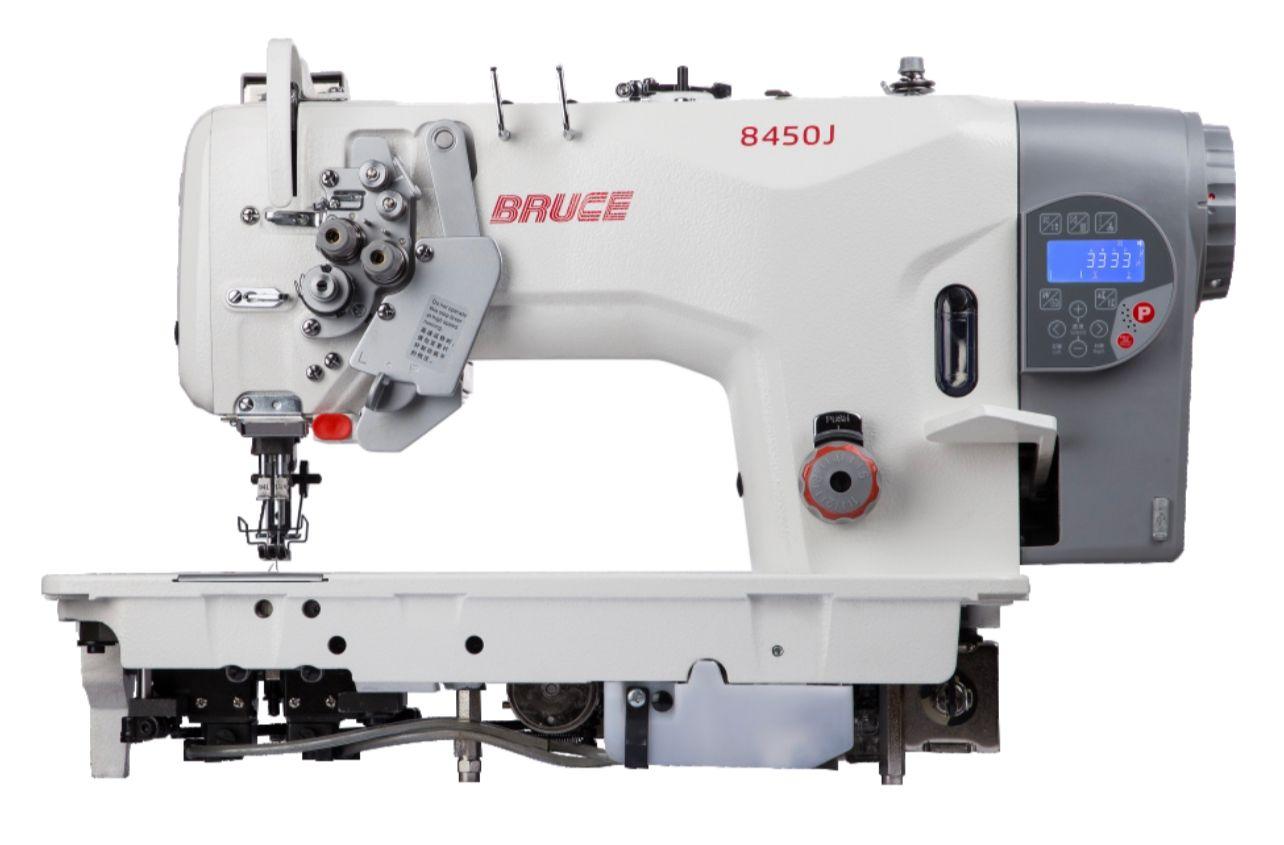 Bruce 8750 Double Needle Split Bar Auto Trim Auto Footlifter