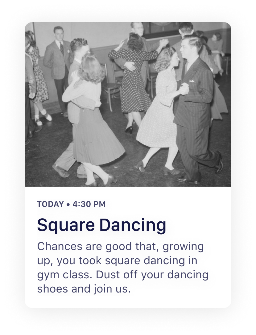 Quiltt - Upcoming Activity - Square Dancing