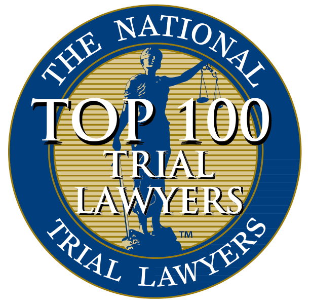 Douglas R. Beam is listed amongst the Top 100 Trial Lawyers nationally as a personal injury attorney.