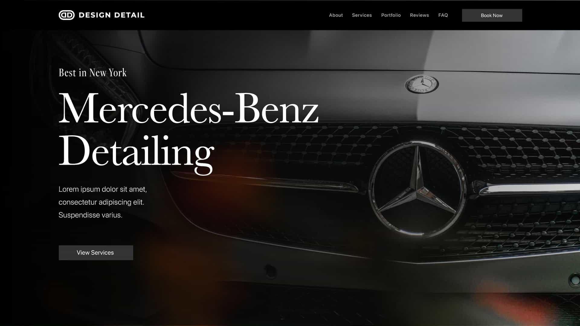 A mercedes benz inspired version of the layout