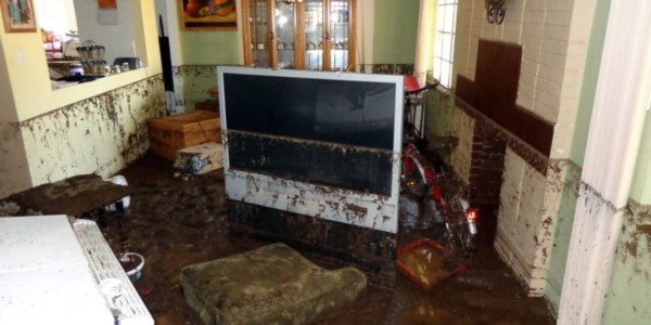 flood damage cleanup services