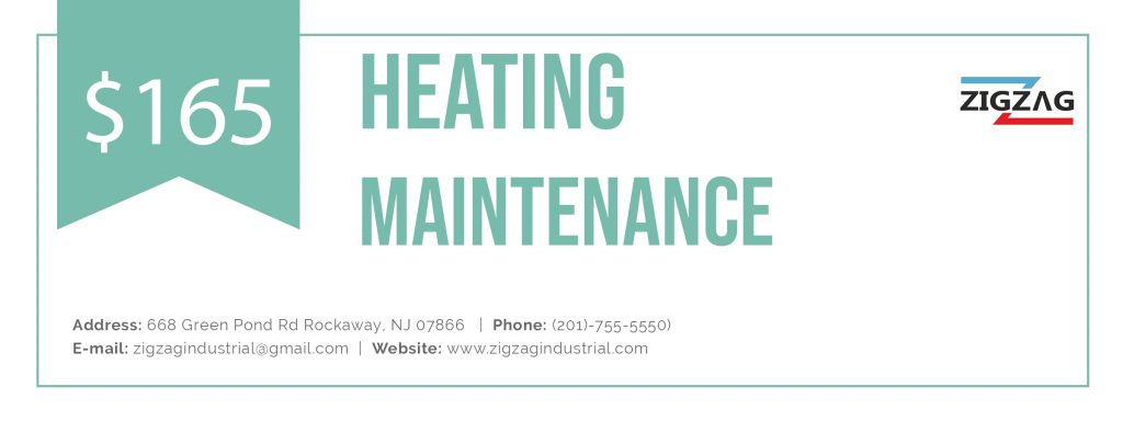 Heating maintenance coupon