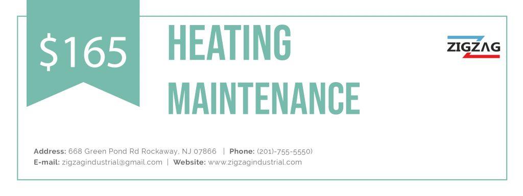 Heating maintenance coupon