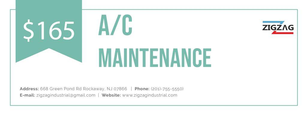 A/C Maintenance coupon