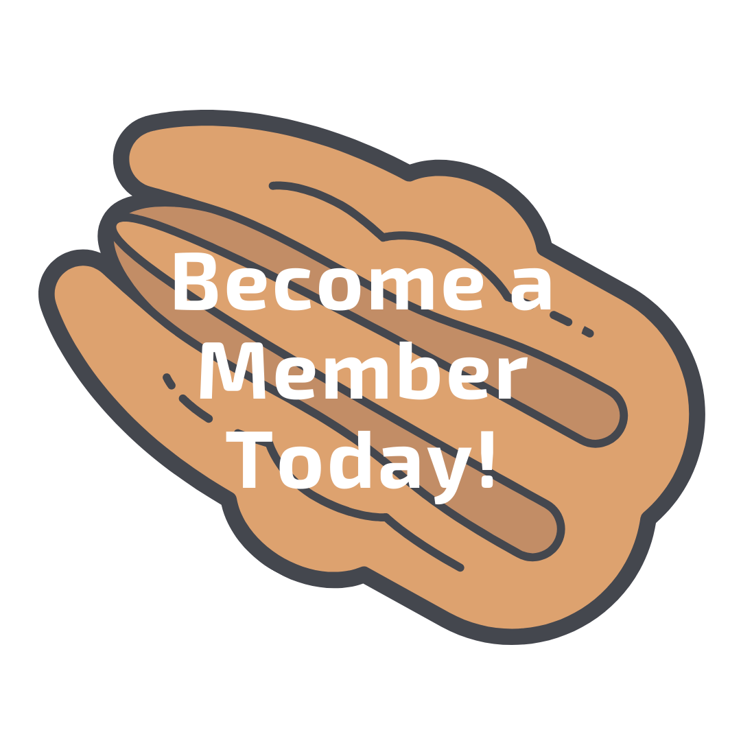 A pecan that links to the membership page.