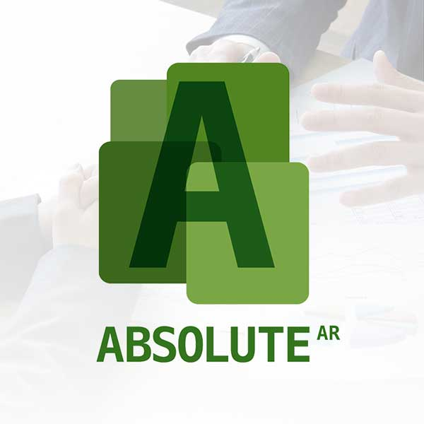 Image of AbsoluteAR logo with white background