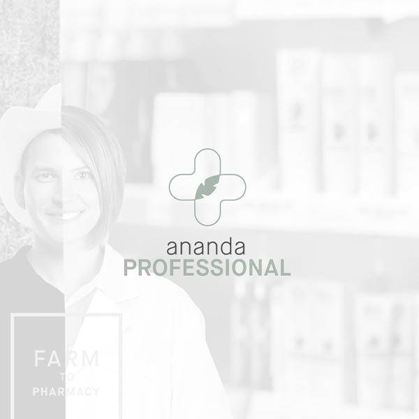 Image of Ananda Professional logo with white background