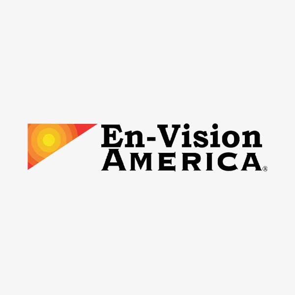 Image of En-Vision America logo with white background