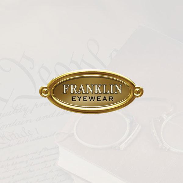 Image of Franklin Eyewear® logo with white background