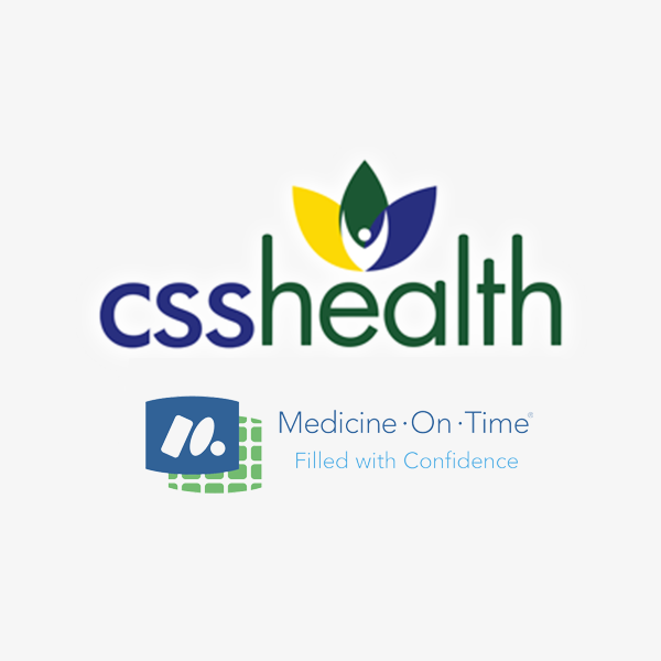 Image of Medicine-On-Time logo with white background