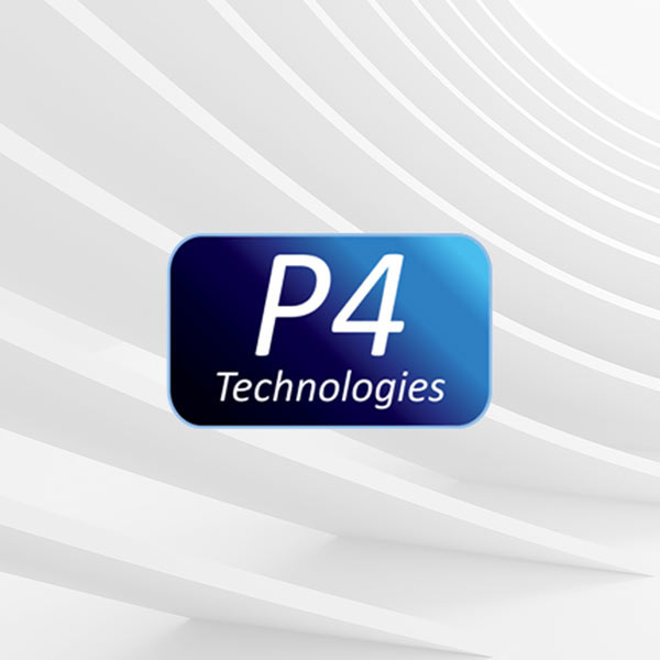 Image of P4 Technologies logo with white background
