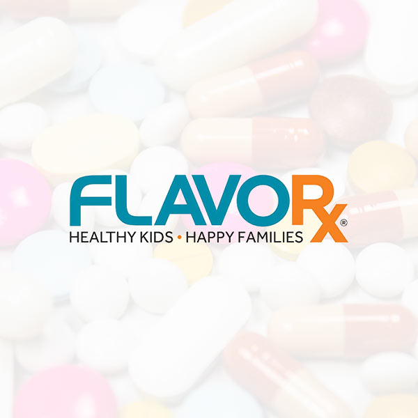 Image of FLAVORx logo with white background