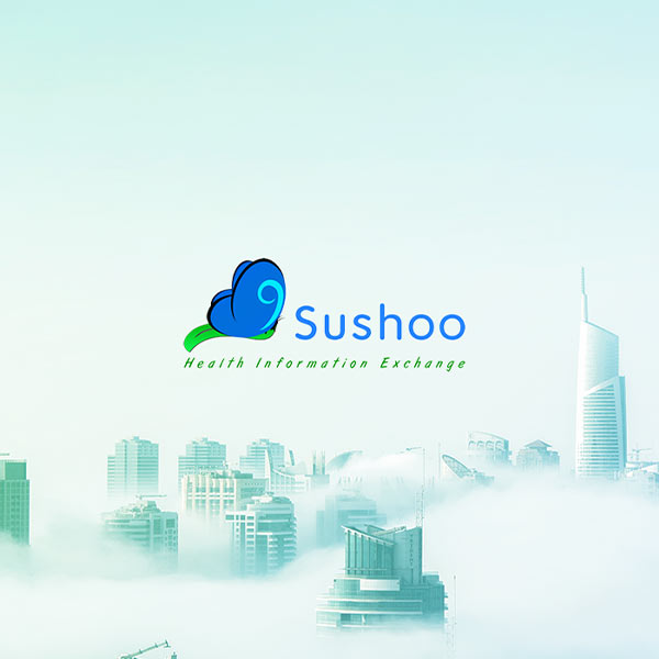Image of Sushoo / AL Cloud Care logo with white background