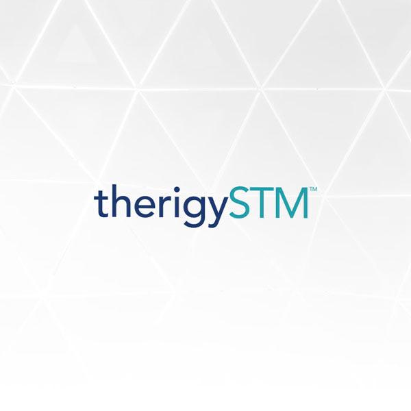 Image of Therigy logo with white background
