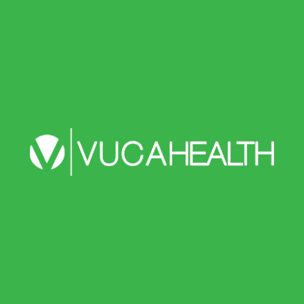 Image of Vuca Health logo with green background