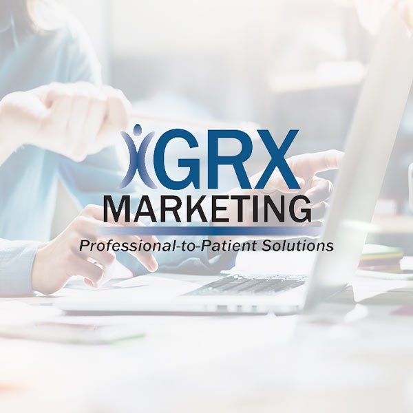 Image of GRX Marketing Services logo with white background