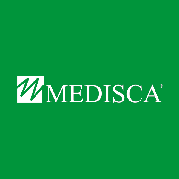 Image of Medisca logo with green background