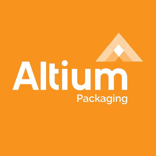 Image of Altium Healthcare logo with orange background