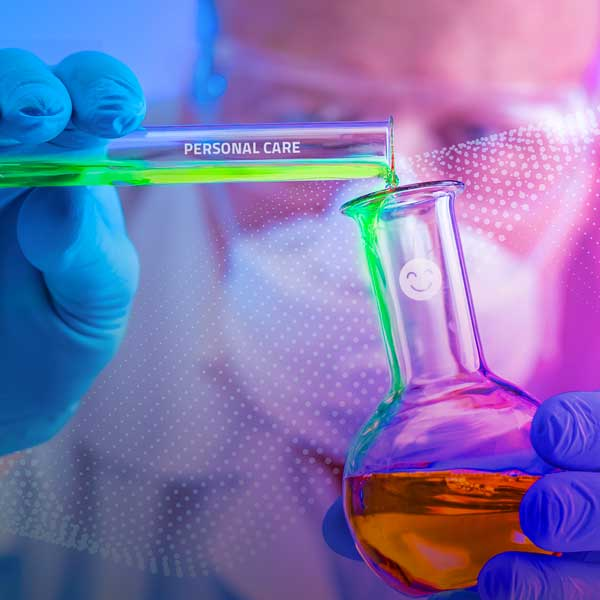 Image of pharmacist pouring liquid into glass