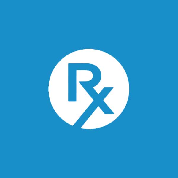 Square image of Independent Rx Consulting with blue background