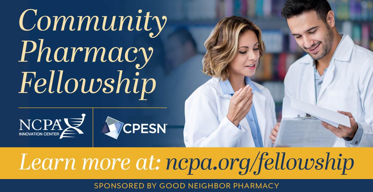 NCPA Community Pharmacy Fellowship and 2 pharmacists