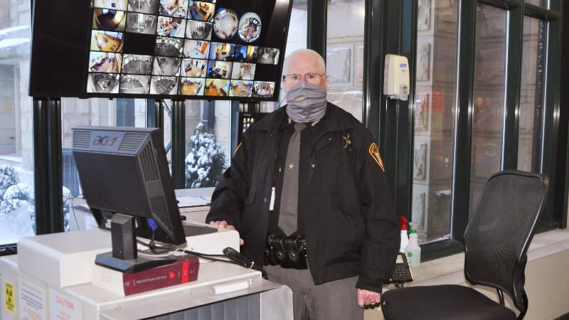 Courthouse Security Guard