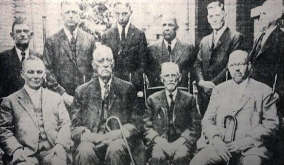 Vintage photo of Sheriffs