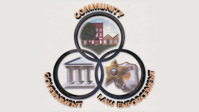 Community Oriented Policing Logo