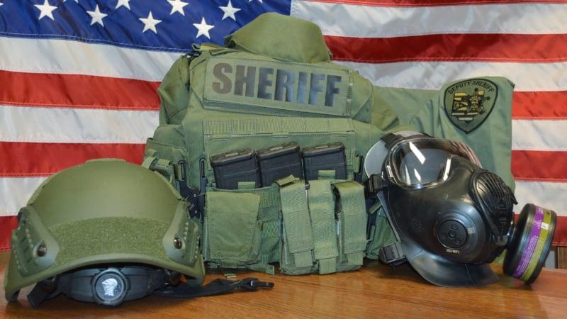 Emergency Response Team gear