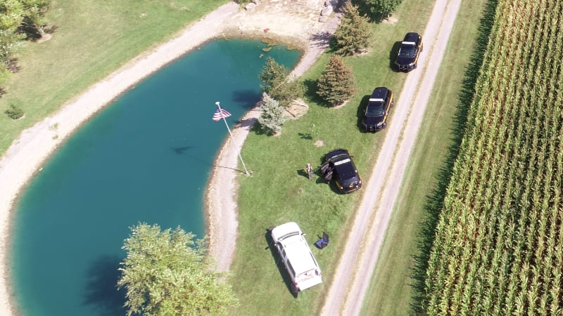HCSO Drone in area search