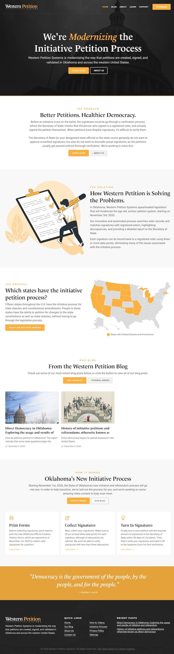 Western Petition