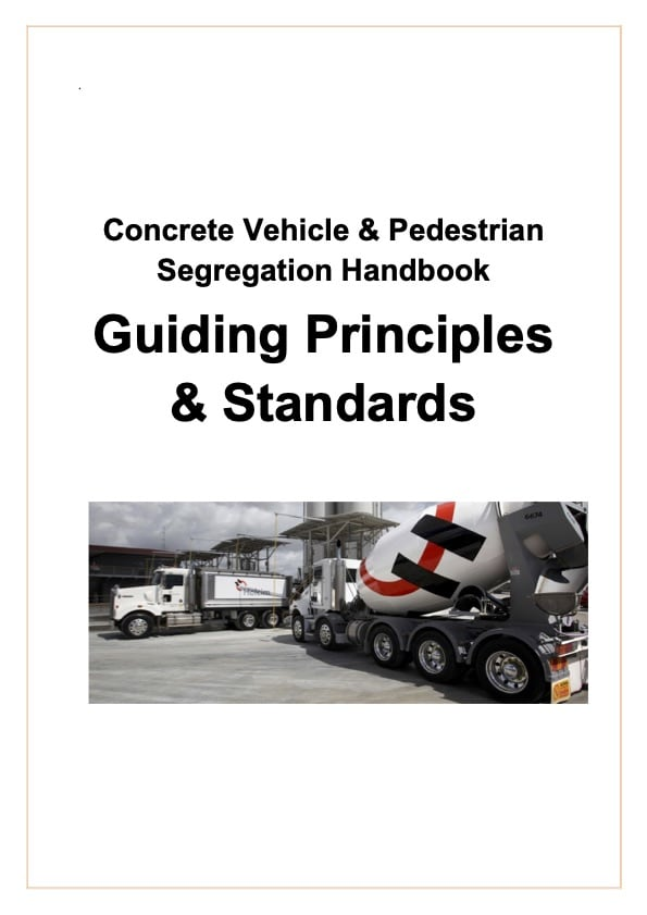 Holcim Concrete Vehicle Pedestrian Separation Handbook