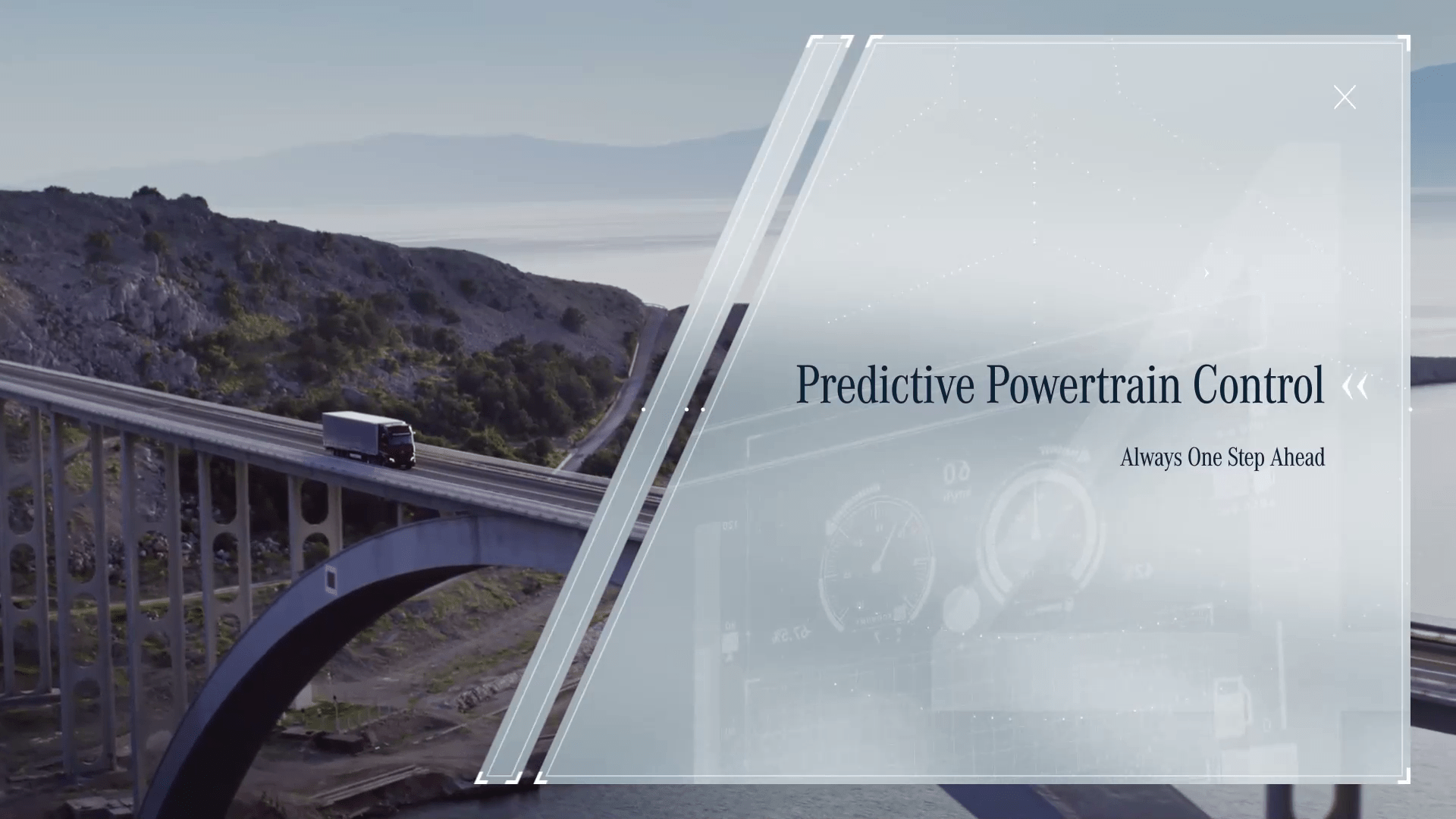 Predictive Powertrain Control